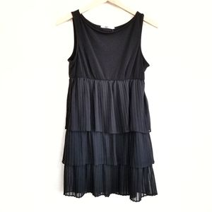NWT Love Culture Pleated Tiered Dress Size L